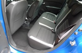 Dacia Logan Stepway, rear seats